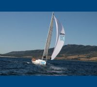 Elan 450 laminate race sail