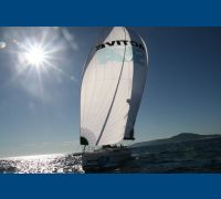 Elan 450 laminate race sails
